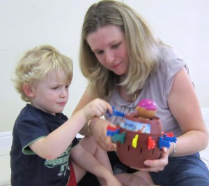 Speech Therapy that is play based and uses toys you have at home