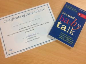 Your attendance at our workshops always include a certificate of attendance.